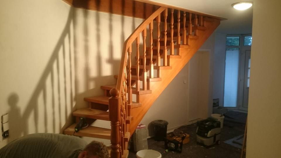 Treppenhaus neu Werlte Maler Menne