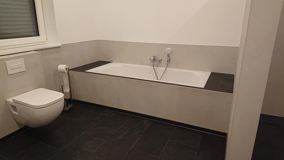 Badezimmer Renovierung Badewanne