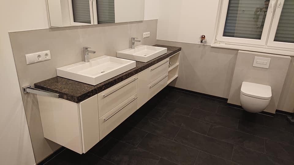 Badezimmer Renovierung Spülbecken